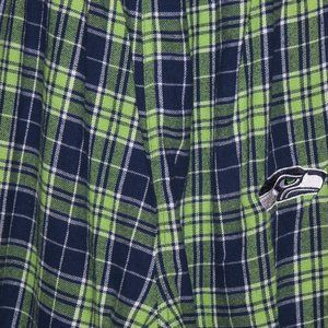 NFL Seahawks Pajama Pants size L  Nice and Cozy